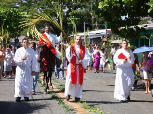 holy week costa rica